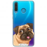 Чехол для Huawei P30 Lite Mixcase собачки дизайн 4
