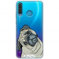 Чехол для Huawei P30 Lite Mixcase собачки дизайн 11