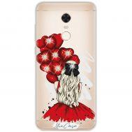 Чехол для Xiaomi Redmi 5 Plus Mixcase стразы дизайн 18