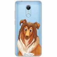 Чехол для Xiaomi Redmi 5 Mixcase собака колли