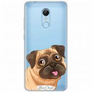 Чехол для Xiaomi Redmi 5 Mixcase собака мопс