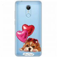 Чехол для Xiaomi Redmi 5 Mixcase влюбленная собака