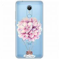 Чехол для Xiaomi Redmi 5 Mixcase стразы цветочный шар