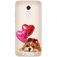 Чехол для Xiaomi Redmi 5 Plus Mixcase собачки дизайн 13