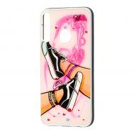 Чехол для Huawei P40 Lite E Girls UV shoes