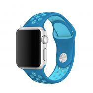 Ремешок для Apple Watch Sport Nike+ 38mm / 40mm синий бирюзовый (2)