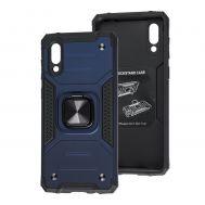 Чехол для Samsung Galaxy A02 (A022) Hard Defence синий