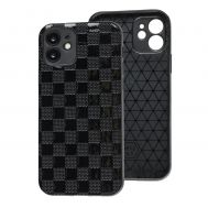 Чехол для iPhone 12 Leather case куб