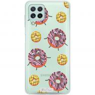Чехол для Samsung Galaxy S20 FE (G780) MixCase с 3D глазками пончики