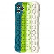 Чехол для iPhone 11 Pro Max Pop it colors антистресс дизайн 6