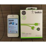 USB Cable iPhone 4 Green Belkin