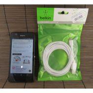 кабель USB Micro USB 2m белый Belkin (тех пак)