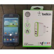 Сетевой адаптер Belkin-2.1A 2xUSB белый 100%orig