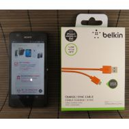 USB Cable Micro Orange Belkin