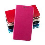 Чехол книжка для Meizu MX4 с магнитом розовый