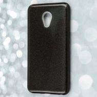 Чехол для Meizu M5 Shining Glitter с блестками черный