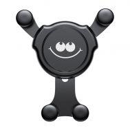 Автодержатель Baseus Emoticon Gravity Car Mount  Air Vent SUYL - EMHJ черный