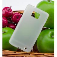 Чехол накладка для Samsung I9100 матовый/прозрачный