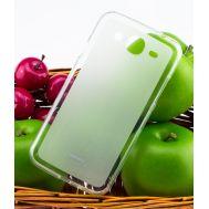 Чехол накладка для Samsung i9190 white +пленка