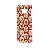 Чехол Cath Kidston для Samsung Galaxy S6 edge+ цветы красный