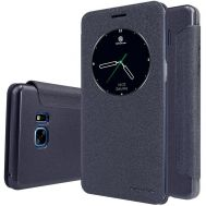 Кожаный чехол (книжка) Nillkin Spakle Series для Samsung N930F Note 7 Duos черный