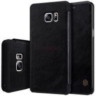 Кожаный чехол (книжка) Nillkin Qin Series для Samsung N930F Galaxy Note 7 Duos черный