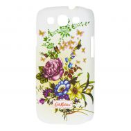Чехол для Samsung Galaxy S3 (i9300) Cath Kidston Flowers бежевый