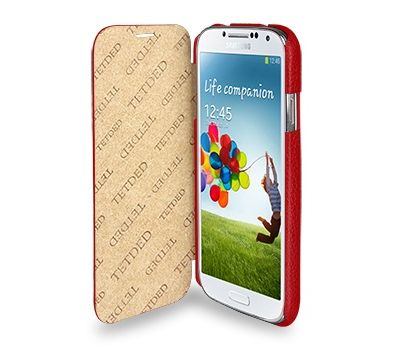 Book TETDED Samsung i9500 White (Galaxy S4) 1577
