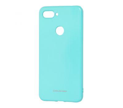 Чехол для Xiaomi Mi 8 Lite Molan Cano глянец бирюзовый