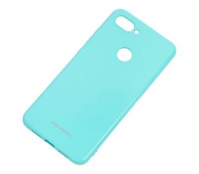 Чехол для Xiaomi Mi 8 Lite Molan Cano глянец бирюзовый 1002313