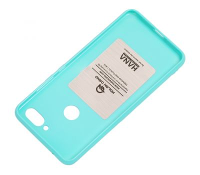 Чехол для Xiaomi Mi 8 Lite Molan Cano глянец бирюзовый 1002314