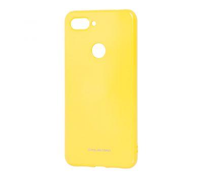 Чехол для Xiaomi Mi 8 Lite Molan Cano глянец желтый