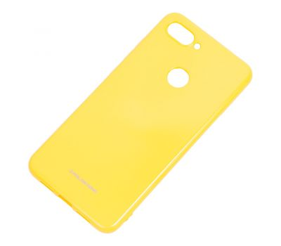 Чехол для Xiaomi Mi 8 Lite Molan Cano глянец желтый 1002316