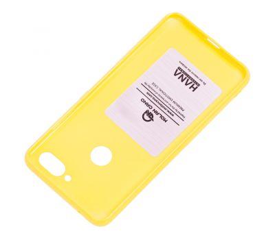 Чехол для Xiaomi Mi 8 Lite Molan Cano глянец желтый 1002317