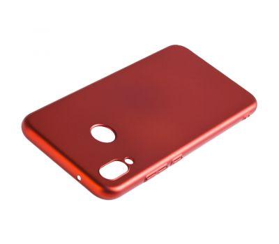 Чехол для Huawei P20 Lite Soft Touch красный 1011223