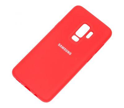 Чехол для Samsung Galaxy S9+ (G965) Silicone Full красный 1016602