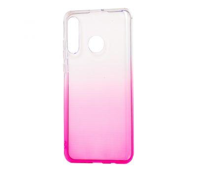Чехол для Huawei P30 Lite Gradient Design розово-белый