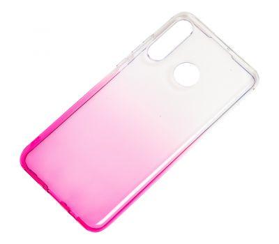 Чехол для Huawei P30 Lite Gradient Design розово-белый 1016818