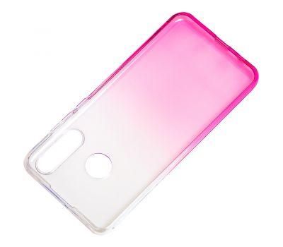 Чехол для Huawei P30 Lite Gradient Design розово-белый 1016819