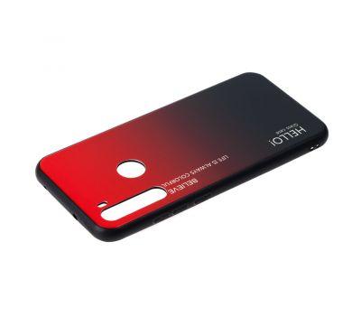 Чехол для Xiaomi Redmi Note 8T Hello glass красный 1046316