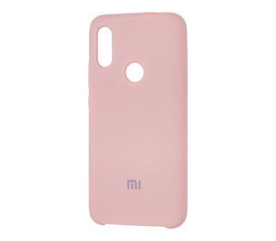 Чехол для Xiaomi Redmi 7 Silky Soft Touch бледно-розовый 1049589