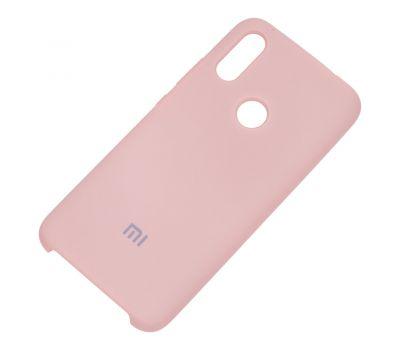 Чехол для Xiaomi Redmi 7 Silky Soft Touch бледно-розовый 1049590