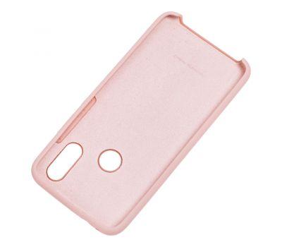 Чехол для Xiaomi Redmi 7 Silky Soft Touch бледно-розовый 1049591