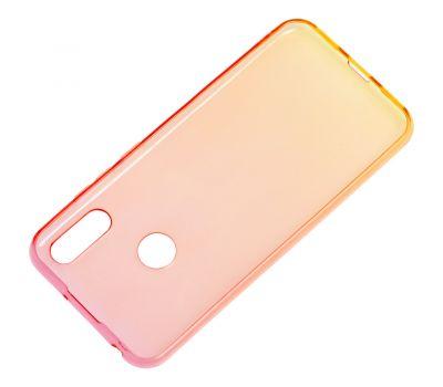 Чехол для Huawei Y6 2019 Gradient Design красно-желтый 1057848