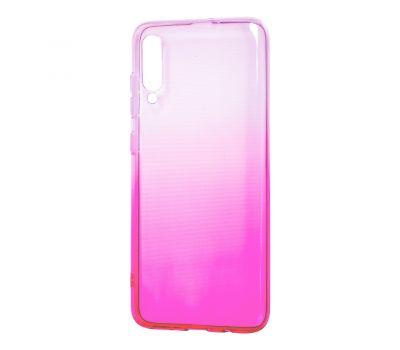 Чехол для Samsung Galaxy A70 (A705) Gradient Design розово-белый