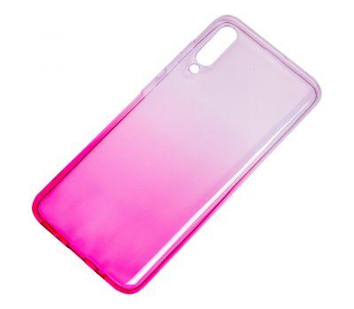Чехол для Samsung Galaxy A70 (A705) Gradient Design розово-белый 1062732