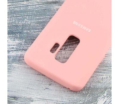Чехол для Samsung Galaxy S9+ Silky Soft Touch персиковый 108078