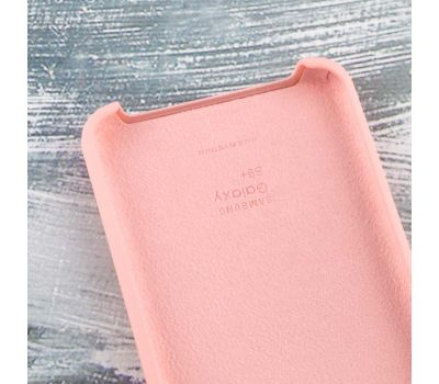 Чехол для Samsung Galaxy S9+ Silky Soft Touch персиковый 108079