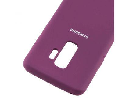 Чехол для Samsung Galaxy S9+ (G965) Silky Soft Touch фиолетовый 108082