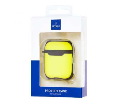 Чехол для AirPods WIWU Hard Protective желтый 1115506